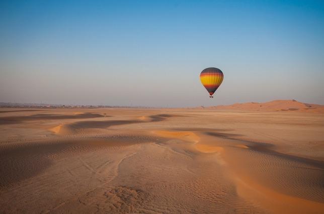 Hot Air Balloon Tour Dubai